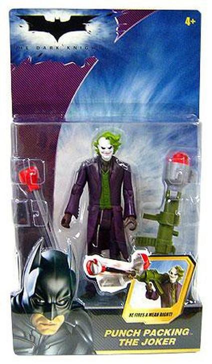 """Mattel Batman The Dark Knight """"Punch Packing Joker"""" Action Figure"""