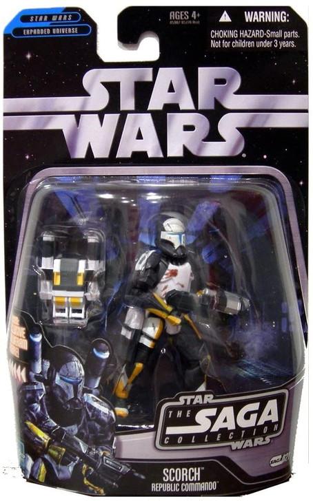 Hasbro Star Wars Scorch Republic Commando Saga #021 action figure