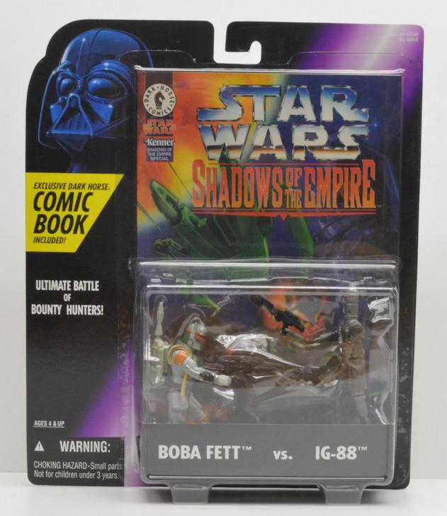 Kenner Shadows of the Empire Boba Fett vs IG-88 Action Figure 2pk