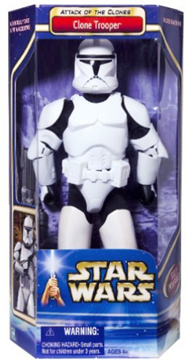 """Hasbro Star Wars Action Collection Clone Trooper 12"""" Action Figure"""