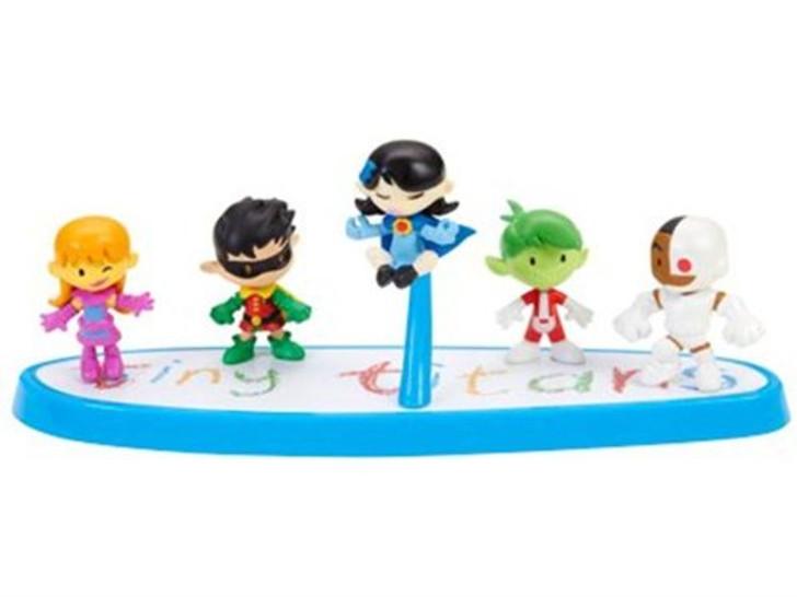 Mattel Tiny Titans SDCC 2012 Box Set (Open package)