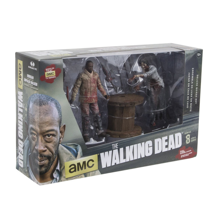 McFarlane The Walking Dead Morgan Deluxe Box Set