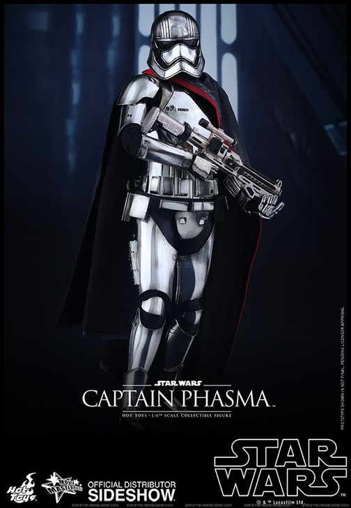 Hot Toys Star Wars Captain Phasma Sixth Scale Figure The Force Awakens Movie Masterpiece Series MMS328