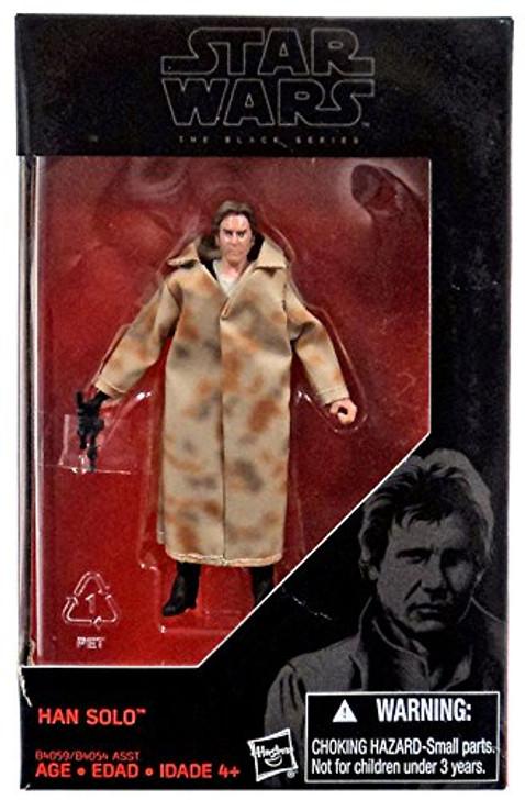 "Star Wars The Black Series Han Solo Endor 3.75"" Action Figure"