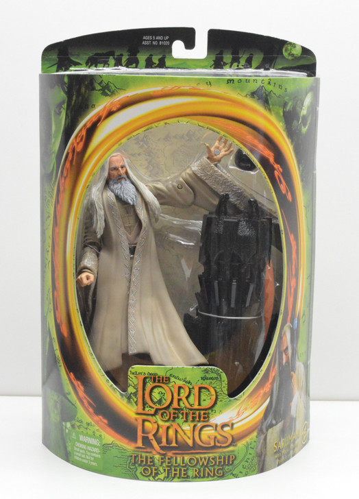 ToyBiz Lord of the Rings Saruman Action Figure