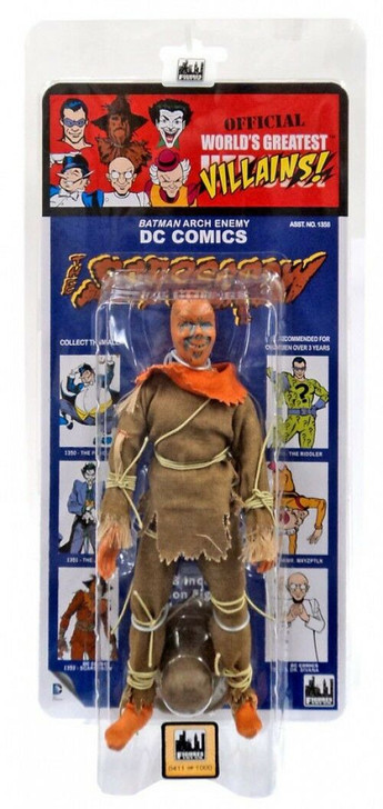 Figures Toy Co. DC Comics Scarecrow Kresge Card 8in action figure