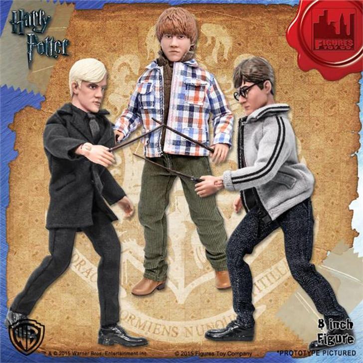 Figures Toy Co. Harry Potter Retro Set of 3