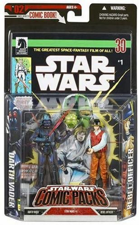 Darth Vader and Rebel Officer