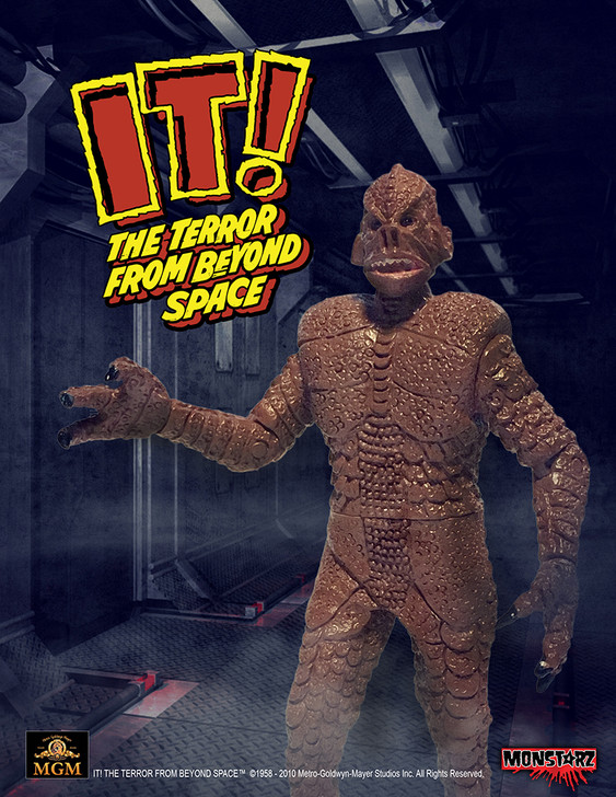 "Monstarz IT! The Terror From Beyond Space Red Sands 3.75"" Scale Retro Action Figure"