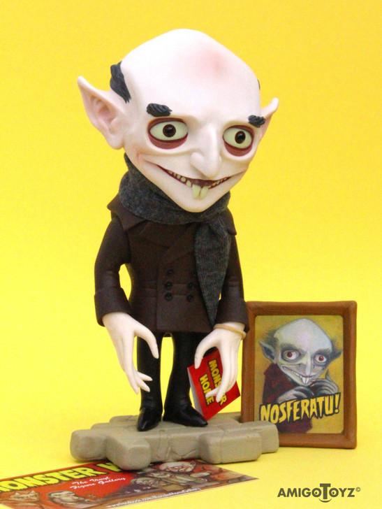 Amigo Toyz Nosferatu Monster Home Vinyl Figure with glowing parts