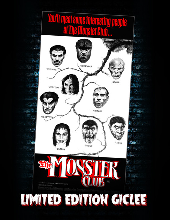 """Monstarz """"The Monster Club"""" Limited Edition Canvas Giclee"""