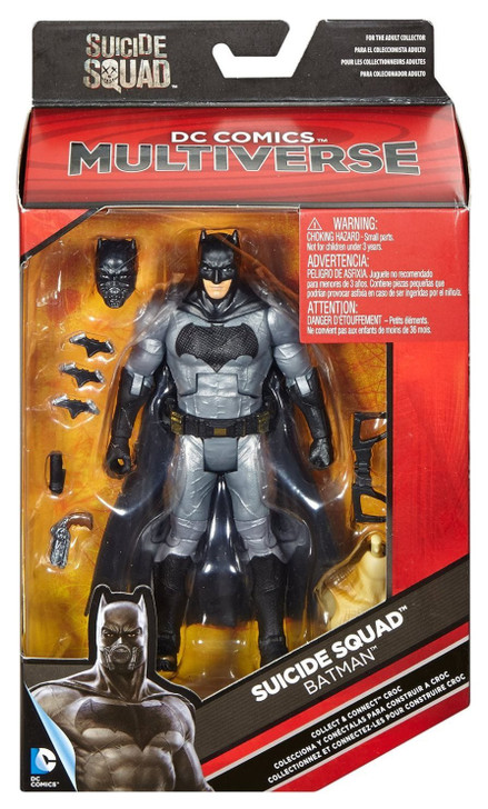 Mattel Suicide Squad Movie Batman 6 inch Action Figure