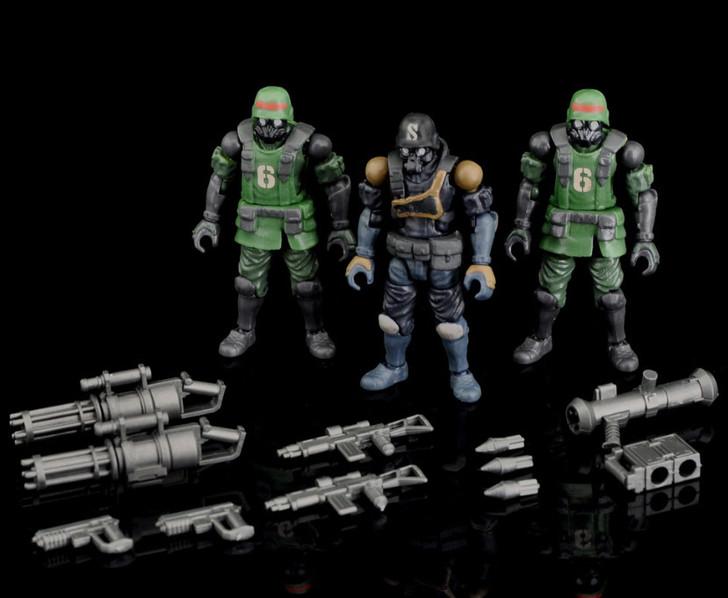 Toynami Acid Rain K6 Jungle Soldier set