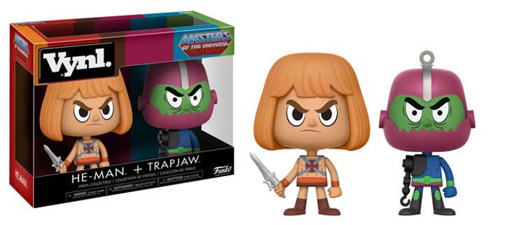 Funko Vynl MOTU He-Man and TrapJaw