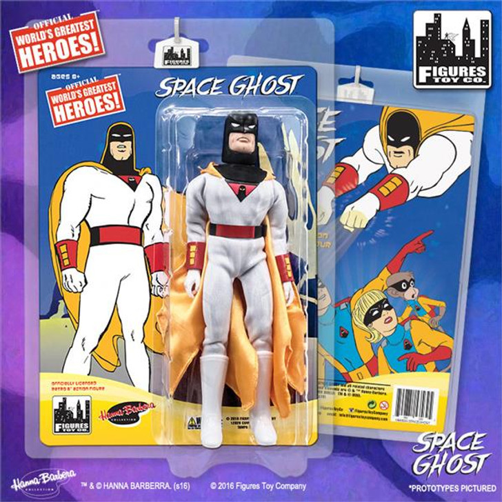 """Figures Toy Co. Space Ghost Retro 8"""" Action Figure"""