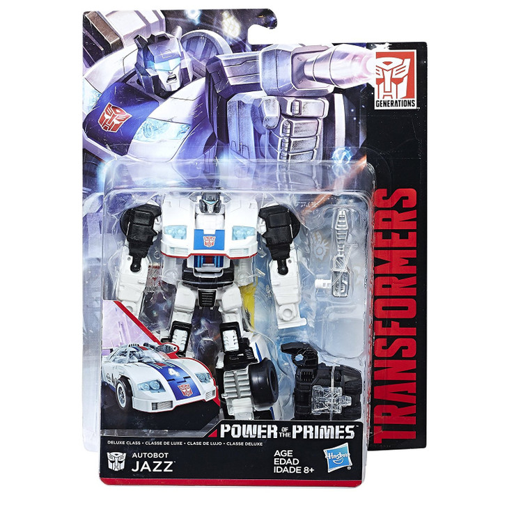 Hasbro Transformers Power of the Primes Jazz Deluxe Class