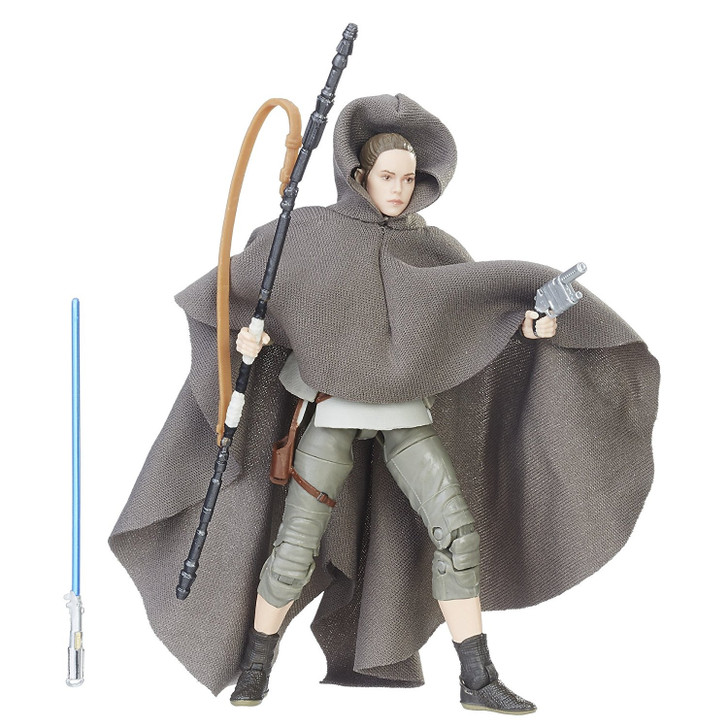 "Hasbro Star Wars Rey Island Journey Black Series 6"" Action Figure"