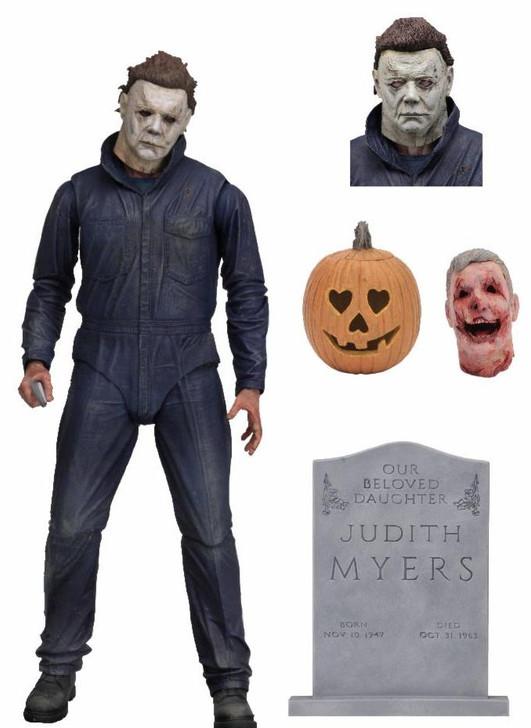 "NECA Halloween (2018) - 7"" Scale Action Figure - Ultimate Michael Myers"