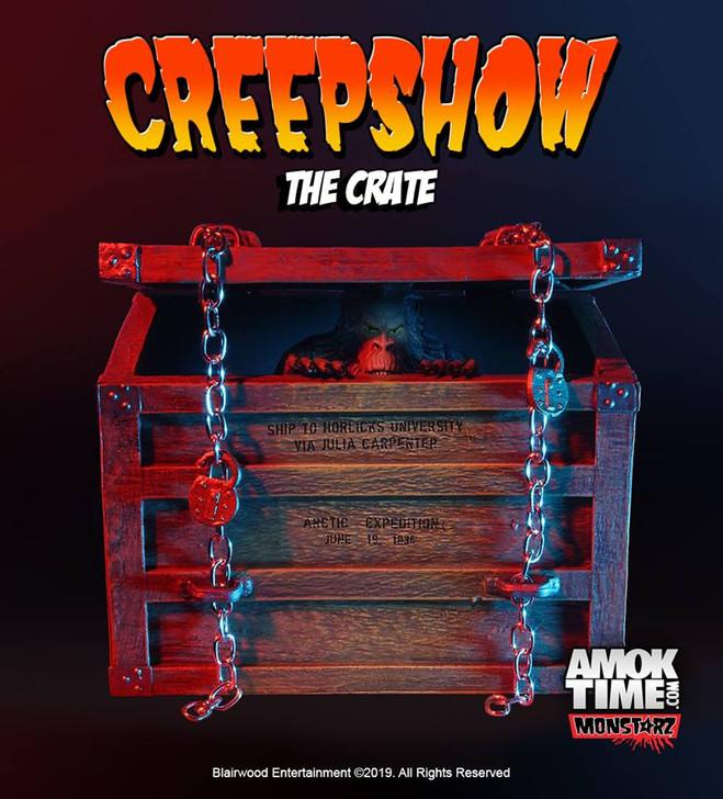 """Monstarz Creepshow """"The Crate"""" 3.75"""" Scale Retro Action Figure"""