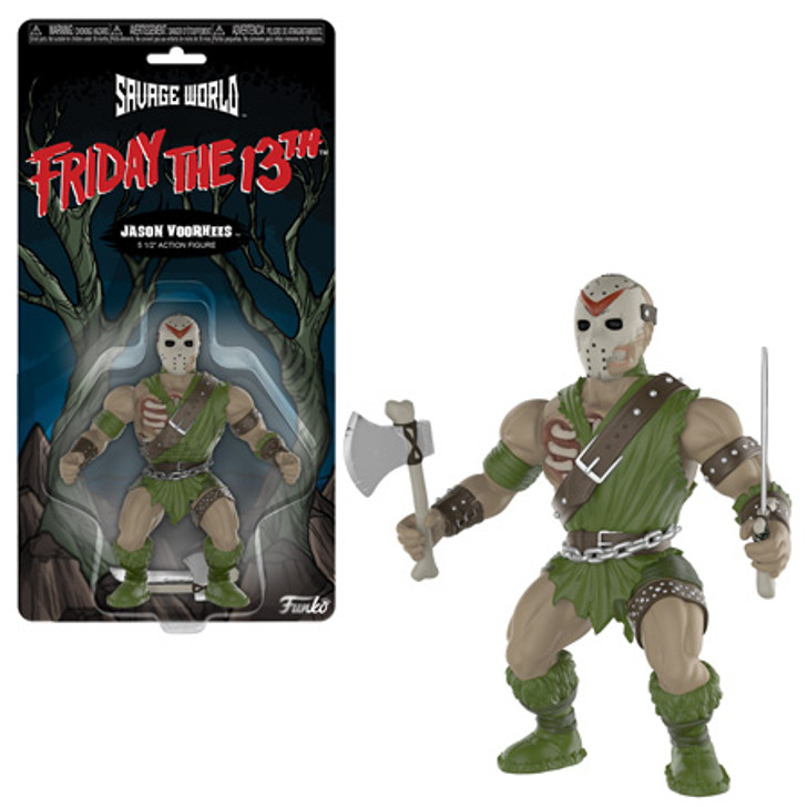 Funko Savage World Friday the 13th Jason