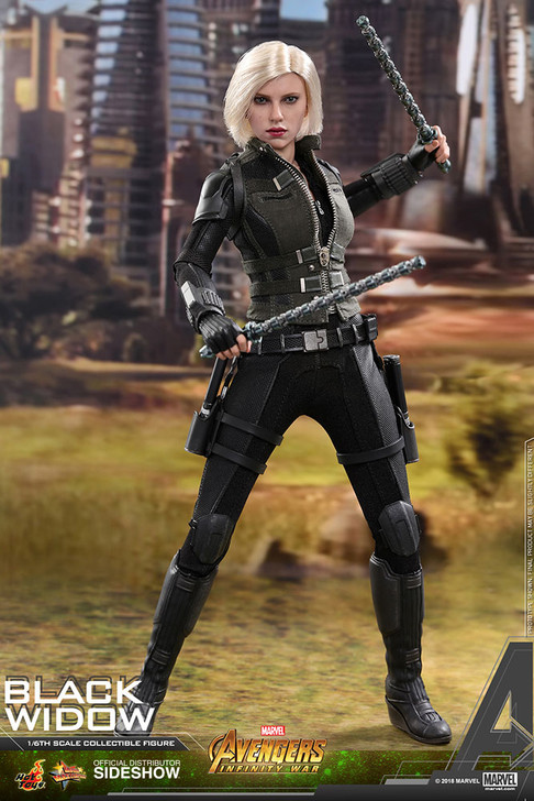 Hot Toys Black Widow Avengers: Infinity War - Movie Masterpiece Series MMS460