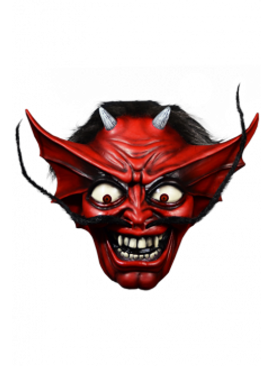 TRICK OR TREAT STUDIOS Number of the Beast Devil Mask