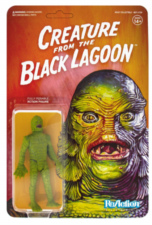 Super7 Universal Monsters ReAction Figure The Creature from the Black Lagoon