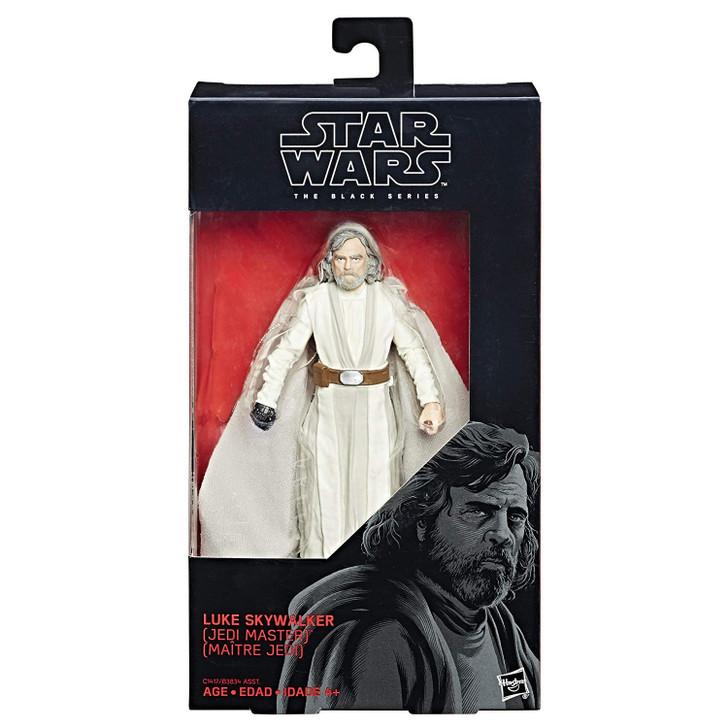 Hasbro Star Wars The Black Series 6 inch Luke Skywalker Jedi Master #46