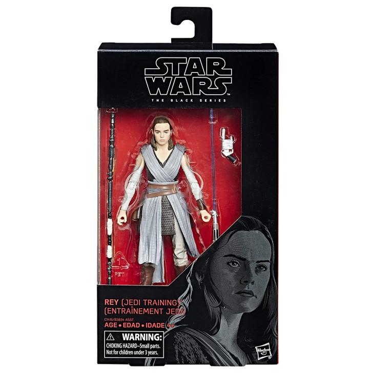 Hasbro Star Wars The Black Series 6 inch Rey Jedi Training #44