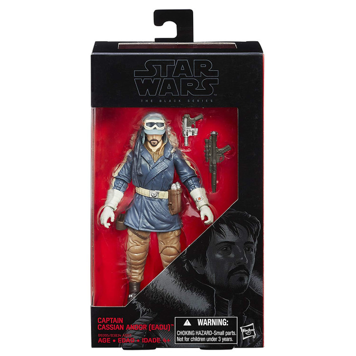 Hasbro Star Wars The Black Series 6 inch Captain Cassian Andor EADU #23
