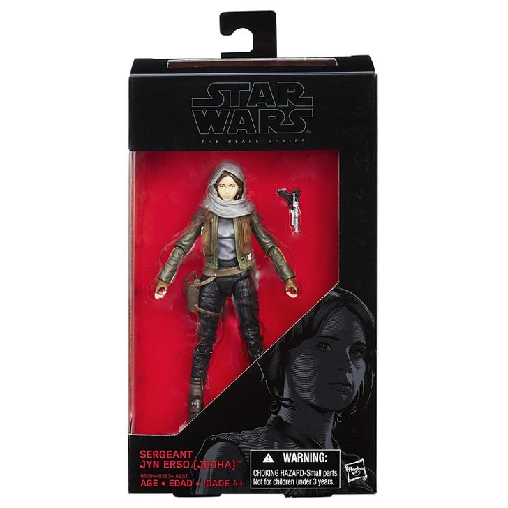 Hasbro Star Wars The Black Series 6 inch Sergeant Jyn Erso Jedha #22