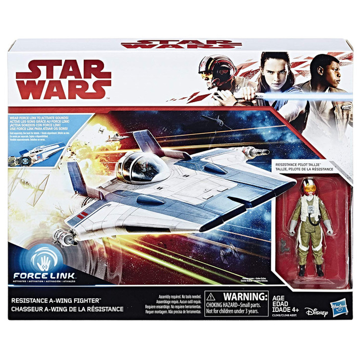 Hasbro Star Wars Resistance A-Wing Figure with Pilot Tallie