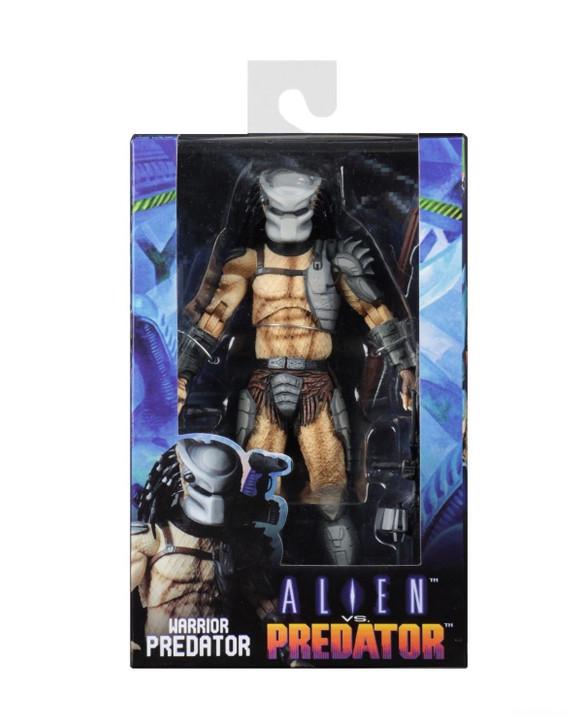 NECA Alien vs Predator (Arcade Appearance) – 7″ Scale Action Figure – Warrior Predator