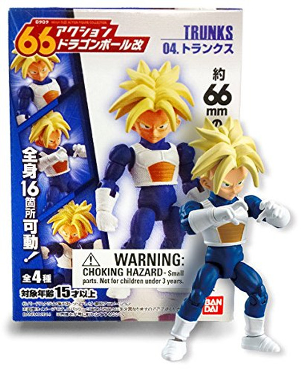 "Bandai Shokugan 66 Action Dragonball Kai ""Trunks"" Action Figure"