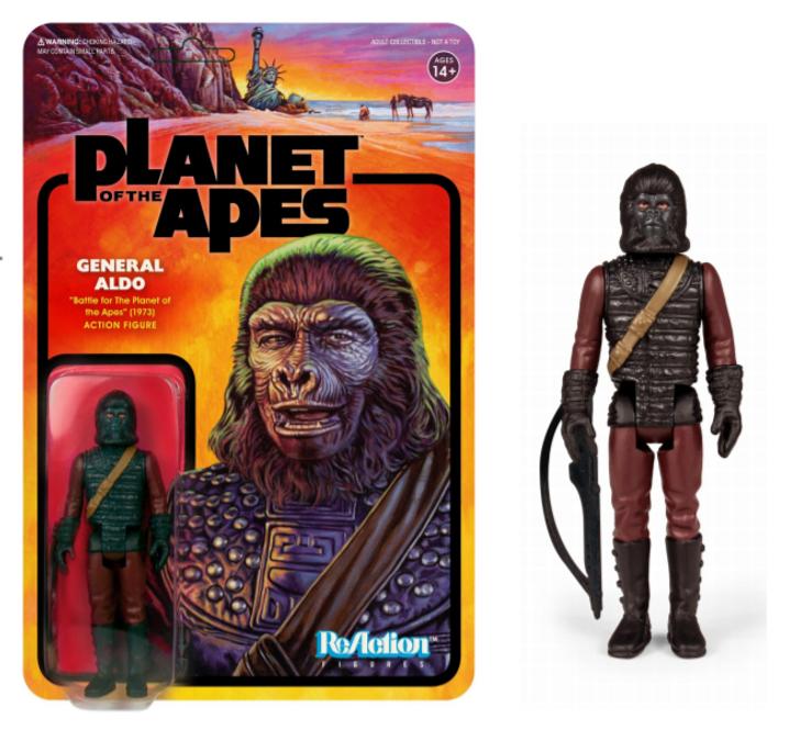 Super7  Planet of the Apes ReAction Figure General Aldo