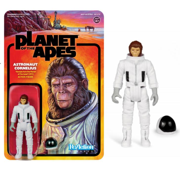 Super7 Planet of the Apes ReAction Figure Cornelius Astronaut