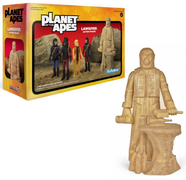 Super7 Planet of the Apes ReAction Figure Lawgiver Statue