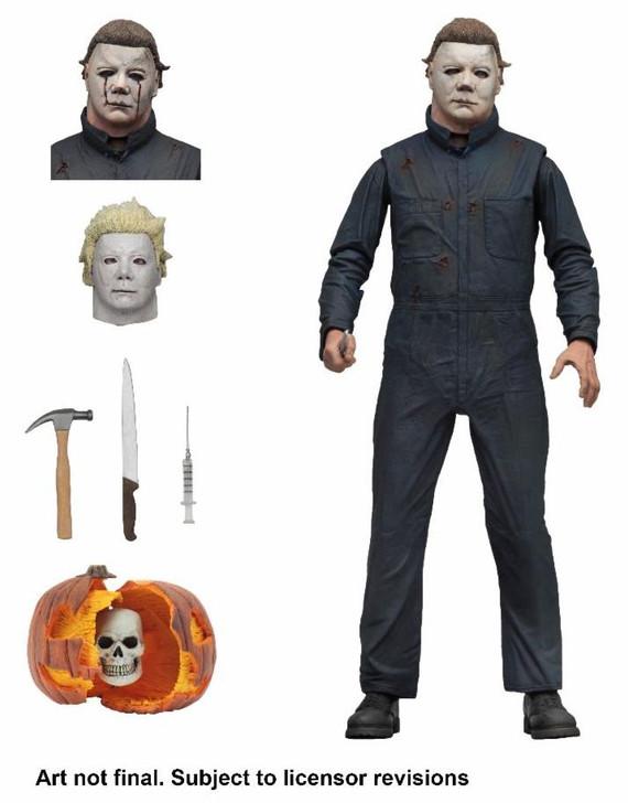 "NECA Halloween 2 - 7"" Scale Action Figure - Ultimate Michael Myers"
