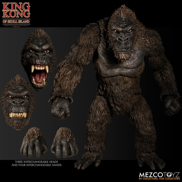 Mezco Ultimate King Kong of Skull Island Action Figure