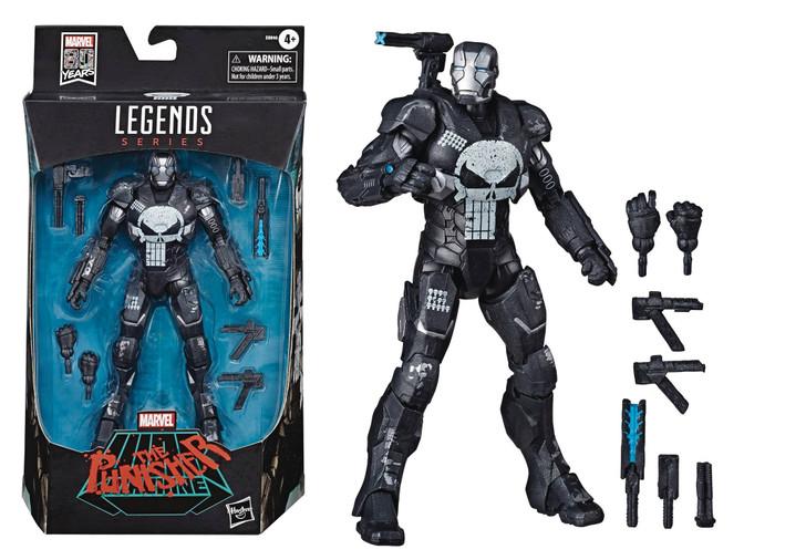 Hasbro Marvel Legends Punisher in War Machine Armor action figure