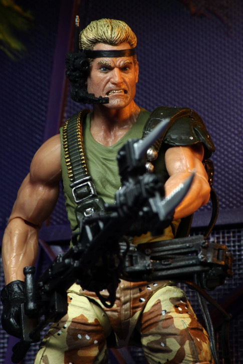 """NECA - Aliens - 7"""" Scale Action Figure - Kenner Tribute Series Colonial Marines Drake"""