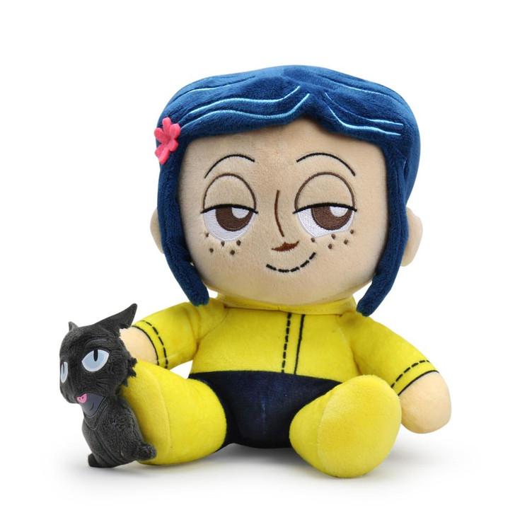 Kidrobot Coraline and Cat Plush