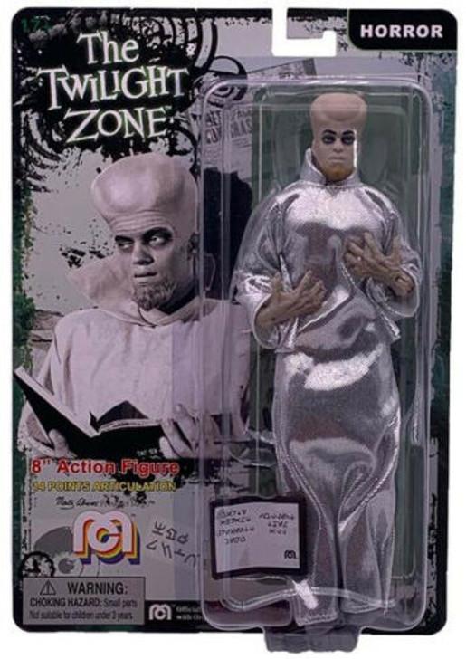 "Mego Action Figure 8"" Twilight Zone To Serve Man Kanamit"