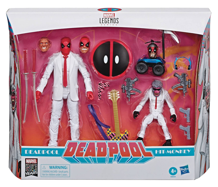 Hasbro Marvel Legends Deadpool and Hit Monkey action figure 2 pack