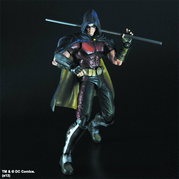 Square Enix Play Arts Kai Batman Arkham City Robin Action Figure