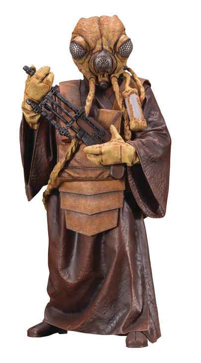 Kotobukiya Star Wars Bounty Hunter Zuckuss ArtFX+ Statue