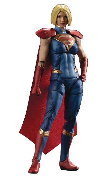 Hiya DC Injustice 2 Supergirl 1/18th scale action figure