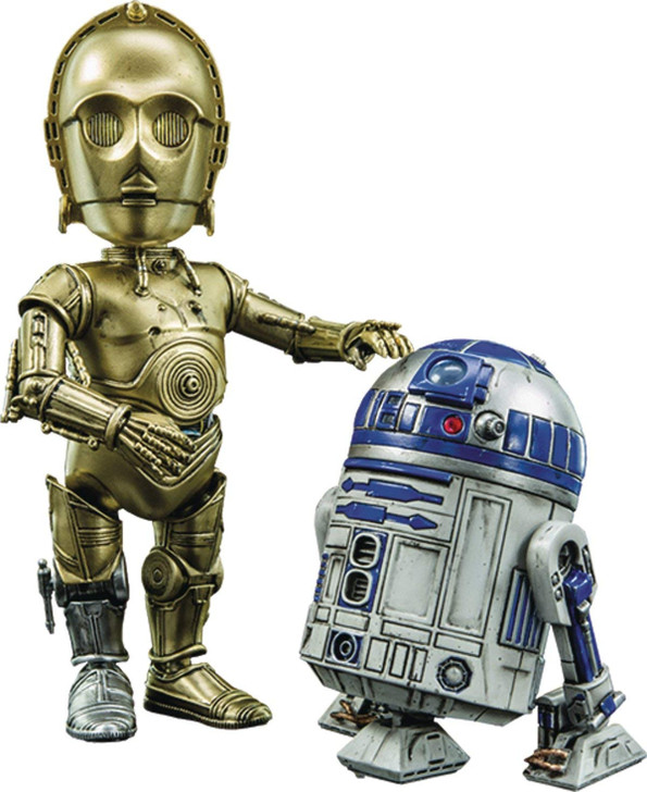 Herocross Star Wars  R2-D2-C-3PO HMF-024 Set