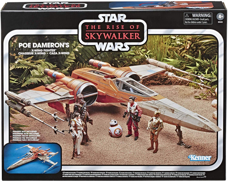 Hasbro Star Wars Vintage Collection Poe Dameron's X-Wing Fighter
