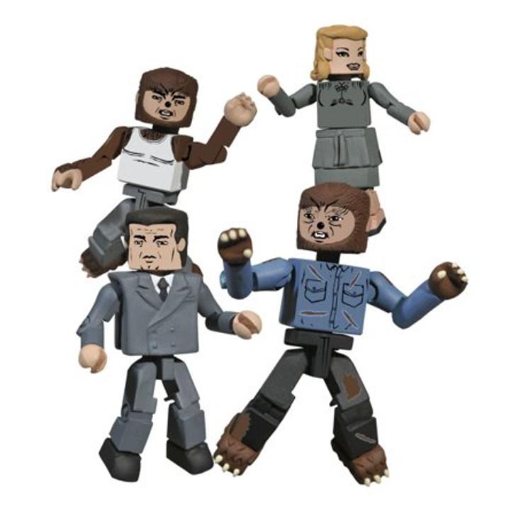 Diamond Select Universal Monsters The Wolfman Minimates set